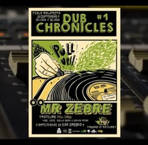 Dub Chronicles #1 @Maislume Kolektive, Mr Zebre and friends . Um projeto de Cinema, Vídeo e TV de Diego Padín Beltrán         - 13.10.2016