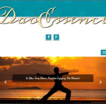 DaoEssence. Um projeto de Web design de Pau Rodellino         - 07.12.2015