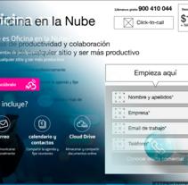 Métricas KPI, diseño y maquetación para landing page Movistar Ecuador. Um projeto de UI / UX, Br, ing e Identidade e Arquitetura da informação de Cristina Rodríguez Gallego         - 11.12.2016