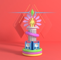 Totems. A Design, Illustration, 3D, and Fine Art project by Sergio García Arribas - 13-12-2016