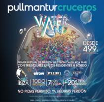 Folleto Waterland Pullmantur. Un proyecto de Diseño editorial de Bei Carballo - Viernes, 16 de diciembre de 2016 00:00:00 +0100