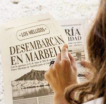 Campaña de apertura para Los Mellizos en Marbella . A Design, Br, ing, Identit, Events, Cooking, Graphic Design, and Marketing project by DIKA estudio  - 31-01-2014