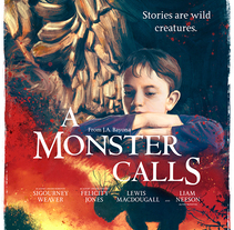 A Monster Calls. A Illustration, and Film project by Ignacio RC  - 22-12-2016