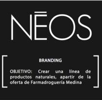 NEOS: Rediseño de imagen para marca de productos de belleza. A Interior Architecture project by Diana  Rodríguez - 28-07-2013