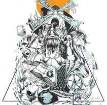 """""""Don Quijote de la Mancha"""" Artwork. Um projeto de Ilustração, Design de personagens e Pintura de Sete Gonzalez         - 10.01.2017"""