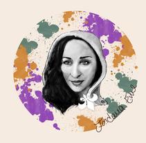 Mi Proyecto del curso: Retrato ilustrado con Photoshop´´YO´´. Un proyecto de Ilustración de Mabellain Suarez Morales - 14-01-2017