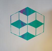 Práctica con mi logo como primera estampación.. A Design project by philip_sauerwald_gil         - 13.01.2017