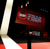 XX OUFF OURENSE INTERNATIONAL FILM FESTIVAL. Um projeto de Direção de arte e Design de cenários de Pablo Menor Palomo (menor.pablo@gmail.com)         - 31.12.2015