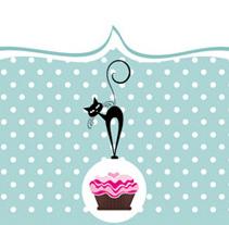 Greedy Cat Cakes - branding. Un proyecto de Ilustración, Br, ing e Identidad y Diseño gráfico de Laura Singular - 22-01-2017
