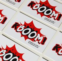 KBOOM! Jornadas de cómic y autoedición de BCN. A Br, ing&Identit project by Sara Couso Espinosa - 19-01-2013