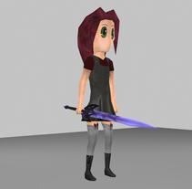 Tales of Dawn. Modelado y animación de personajes. Um projeto de 3D e Animação de Francisco Javier Sánchez Espinosa - 29-01-2017