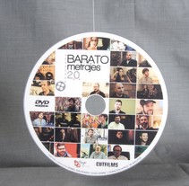 """Gráfica del documental """"Baratometrajes 2.0"""". A Graphic Design project by Nacho Pons - 30-01-2017"""