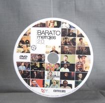 "Gráfica del documental ""Baratometrajes 2.0"". Um projeto de Design gráfico de Nacho Pons - 30-01-2017"