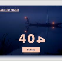 404. Un proyecto de UI / UX y Diseño Web de Gorka Aguirre Velasco         - 08.01.2017
