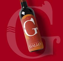 Vino - Alejandro Gallo. A Graphic Design project by Franxu Delgado García         - 01.11.2017