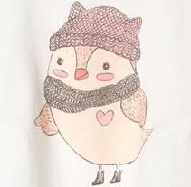 Babygirls Sweet Birds. A Illustration, and Fashion project by nancynany - 31-08-2016