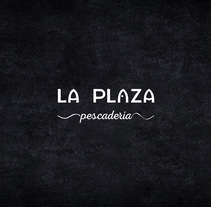 La Plaza. Un proyecto de Br, ing e Identidad y Diseño gráfico de Aroa Diez - 09-12-2015