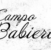 Campo Babiero. Un proyecto de Fotografía, Br, ing e Identidad, Diseño gráfico y Packaging de Aroa Diez         - 08.02.2015