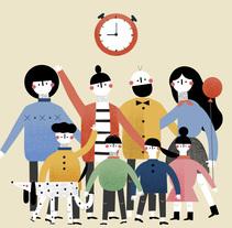 La Ayuda en Educación, a examen. Um projeto de Ilustração e Motion Graphics de Jaime Murciego - 02-02-2017