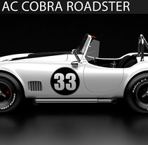 Shelby AC Cobra CGI 3D. Un proyecto de 3D, Animación, Diseño gráfico, Post-producción, Vídeo y VFX de Ivan C         - 16.01.2016