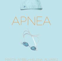 Cartel cortometraje APNEA. A Design, and Graphic Design project by Helena Álvarez Fernández         - 19.11.2016