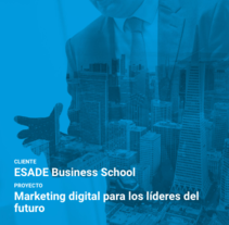 ESADE Business School. A Marketing project by Runroom  - 19-02-2016