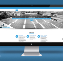Diseño Web. Empresa del sector de la construcción. A Web Design, and Web Development project by Sara Barreiro - 26-02-2017