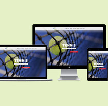 Speak Tennis. A Br, ing, Identit, Marketing, and Web Design project by Zebrarte, agencia creativa digital          - 01.03.2016