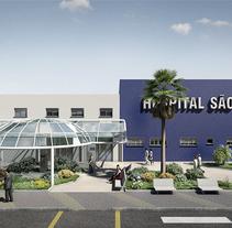 Hospital Sao José. Un proyecto de Arquitectura de Armando Hernaez         - 09.06.2014