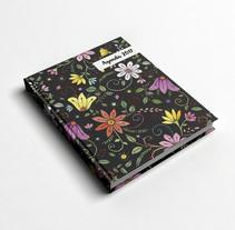 Motivo Flores. Un proyecto de Ilustración y Diseño gráfico de andrea elias rosas         - 13.03.2017