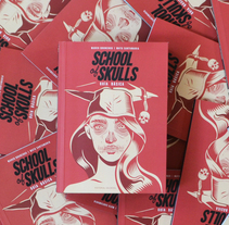 """SCHOOL of SKULLS"" Guía Básica. A Illustration, Editorial Design, Education, Fine Art, and Graphic Design project by Matu Santamaria - 14-03-2017"