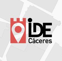 IDE CÁCERES. Um projeto de Design, Br, ing e Identidade, Marketing e Web design de Javier Cruz Domínguez         - 31.12.2015