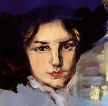 Pintura digital (buscando mi toque); pinturas digitales para alcanzar un aspecto de oleo y pintura tradicional.. Un proyecto de Bellas Artes y Pintura de Fran Valdés         - 01.03.2017