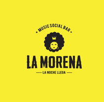 La Morena. A Graphic Design project by Cristian Mendoza         - 25.03.2017
