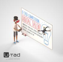 U-tad: Ilustración Digital talent. Un proyecto de Diseño, Ilustración, Publicidad, 3D, Dirección de arte, Diseño de personajes, Consultoría creativa, Educación y Diseño gráfico de Ninio Mutante         - 13.11.2016