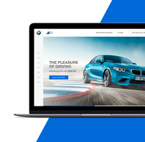 BMW M Power - Web Design. A UI / UX, and Web Design project by Miguel Ángel Rodríguez         - 29.03.2017