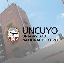Proyecto Sistema Señalético Campus UNCUYO. Un proyecto de Diseño gráfico de Ariadna Mieras         - 01.02.2016