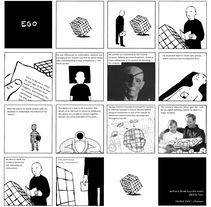 """"""" ego """". A Comic project by pablo santos rey         - 04.04.2017"""
