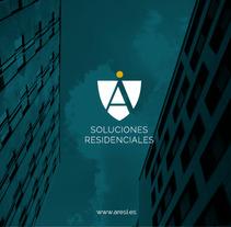 ARESI | Soluciones residenciales. Un proyecto de Br, ing e Identidad y Diseño gráfico de Fran  Sánchez - 21-07-2016