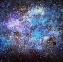 Galaxia final. Un proyecto de Bellas Artes de Santiago Pelaez - 12-04-2017