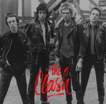 Mi Proyecto del curso: Caligrafía y Rock'n'Roll | The Clash. A Music, Audio, Graphic Design, Calligraph, and Lettering project by Nicolás Romero         - 12.04.2017