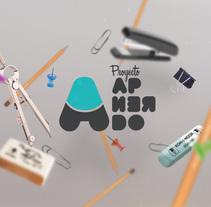 PROYECTO APRENDO | Aprender es una actitud. Un proyecto de Br, ing e Identidad, Diseño gráfico y Diseño Web de Fran Sánchez         - 15.12.2013