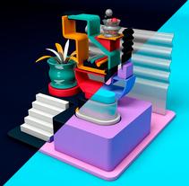 Mi Proyecto del curso: Prototipado y visualizaciones de producto en Cinema 4D. Um projeto de 3D de nujrac         - 17.04.2017