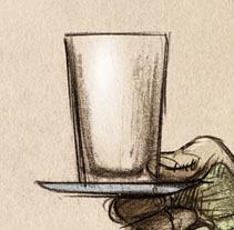 PILGRÍS 2: ¡¡¡Cara de rata, estrella del mal!!!. Um projeto de Ilustração de diego  Blanco         - 17.04.2017