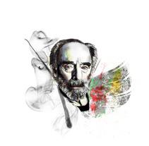Mi Proyecto del curso: Retrato ilustrado con Photoshop. Javier Krahe. Un proyecto de Ilustración de Aida  - 17-04-2017