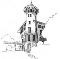 Tierras y Templos. Un proyecto de Ilustración de Elisa Lara Campos         - 20.04.2010
