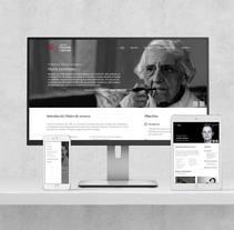 Web Seminari Filosofia i Gènere. Un proyecto de Diseño Web de Isaac Peñarroya  - 22-04-2017