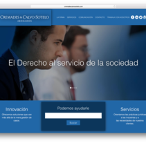 Despacho de Abogados - Cremades & Calvo-Sotelo. A Photograph, Graphic Design, and Web Design project by César Martín Ibáñez  - 23-04-2017