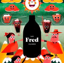 FRED & FRIENDS. Un proyecto de Ilustración y Diseño de personajes de Jhonny  Núñez - 01-05-2017