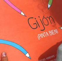 Gijón ¡pinta bien!. A Editorial Design project by Sandra Gallo - 02-05-2014